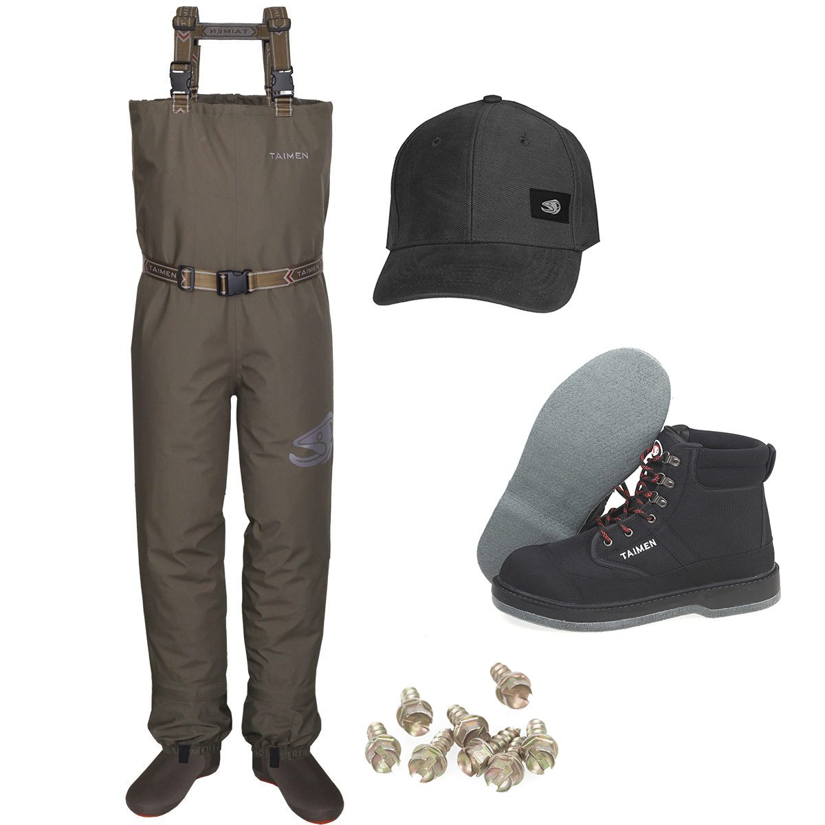 Taimen STX Waders Set