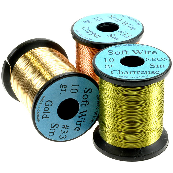 Uni Soft Wire SM 0,2 mm, Fly Tying Tinsels, Wires - Taimen