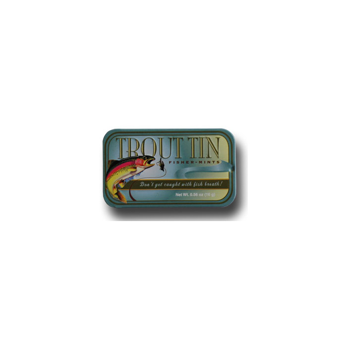 Trout Tin - Fisher Mints