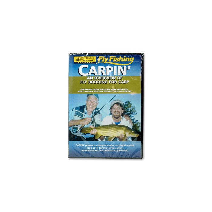 Carpin' An Overview of Fly Rodding for Carp (DVD)
