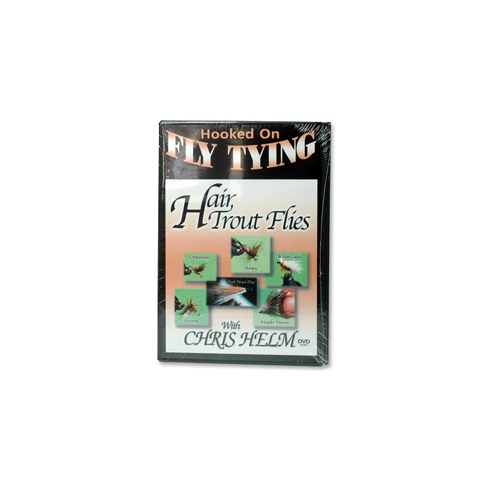 Hair Trout Flies (DVD)