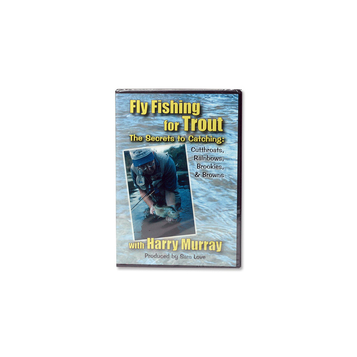 Fly Fishing for Trout with Harry Murray (DVD)