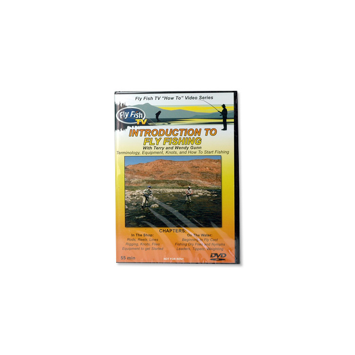 Introduction to Fly Fishing w/T. and W Gunn (DVD)