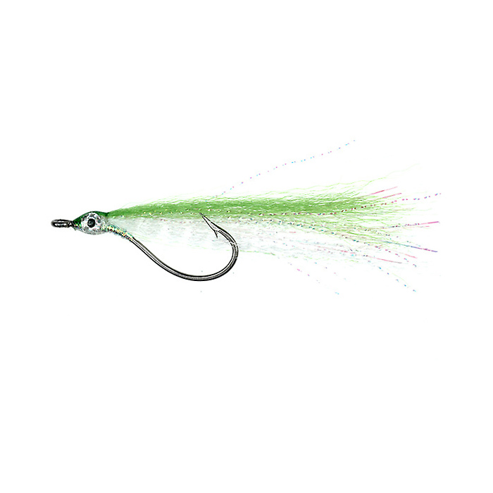 Bendback Minnows / Green/White (244)