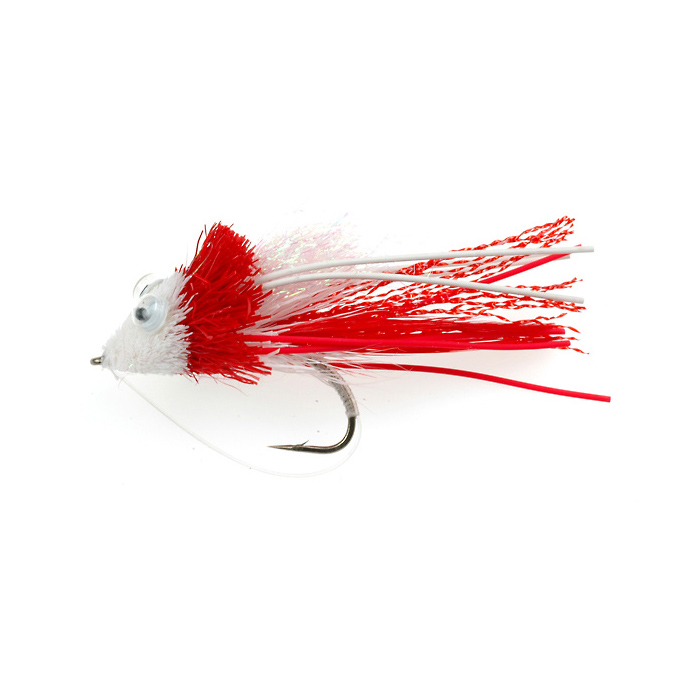 Irresistable Deerhair Divers Red/White (271)