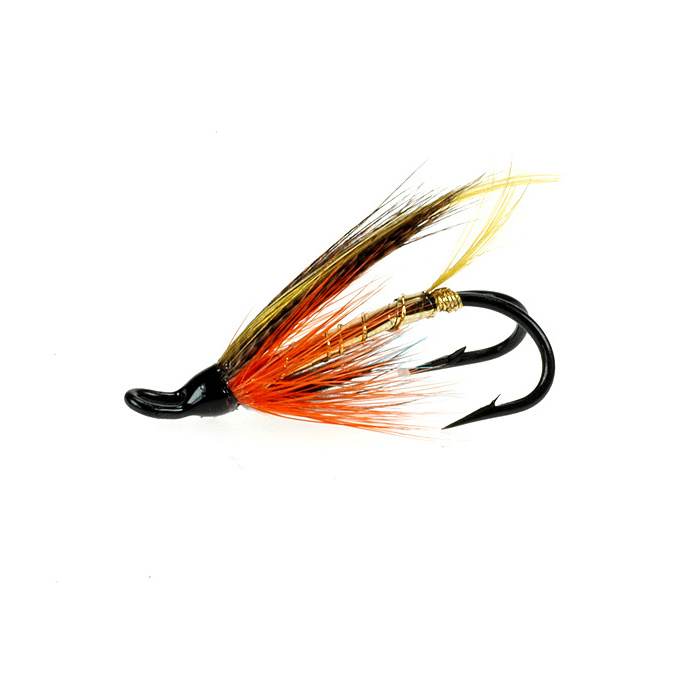 Dunkeld double salmon salmon fishing flies taimen for Salon fly