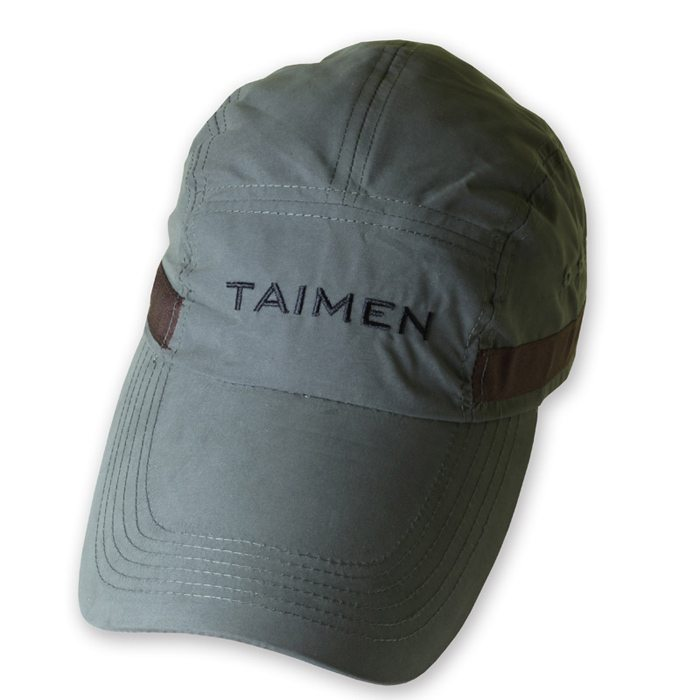 Taimen microfiber long bill cap fishing caps taimen for Sage fly fishing hat