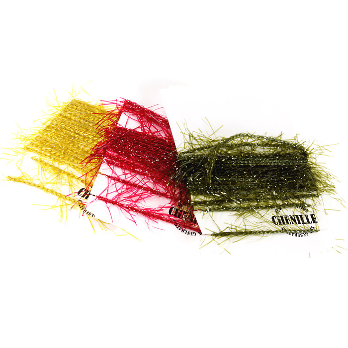 Синель для вязания мушек 77