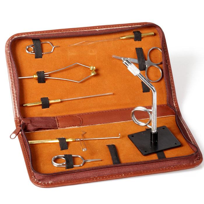 Streamside tool kit fly tying tools sets ebay for Fly fishing kits