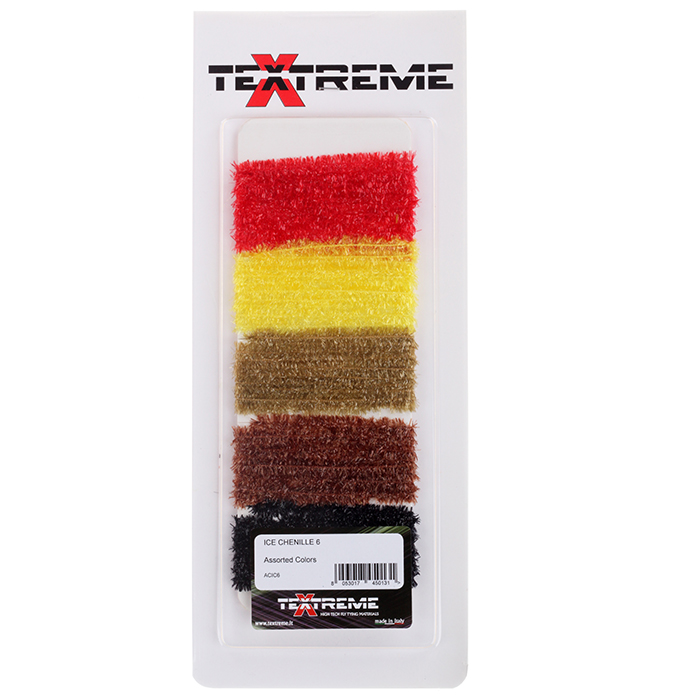 Textreme Ice Chenille Assorted Colors