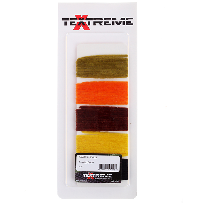 Textreme Rayon Chenille Assorted Colors