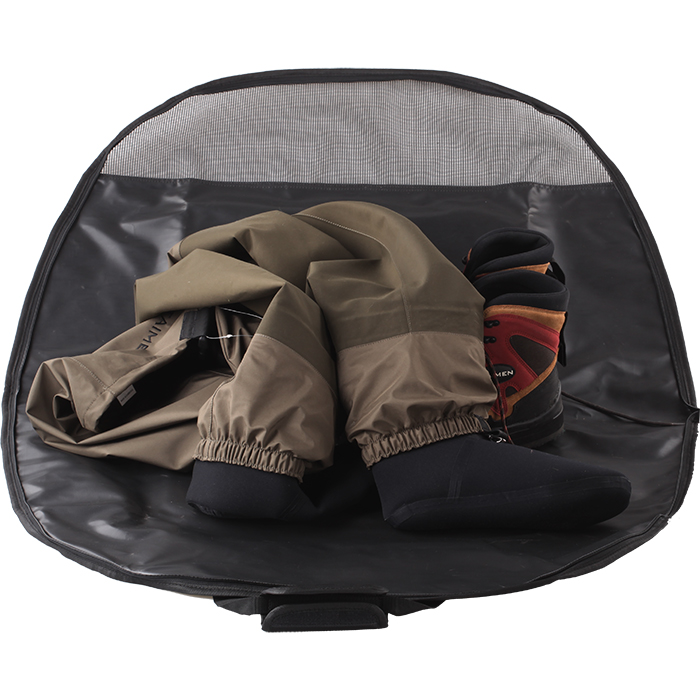 Taimen Waders and Boots Oval Bag