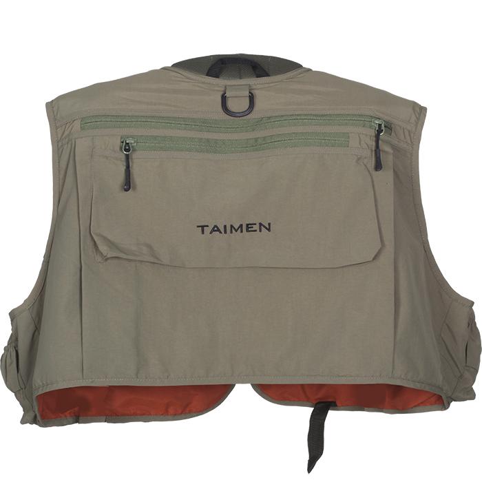 Taimen Master Tech Vest Olive Wędkarskie Kamizelki