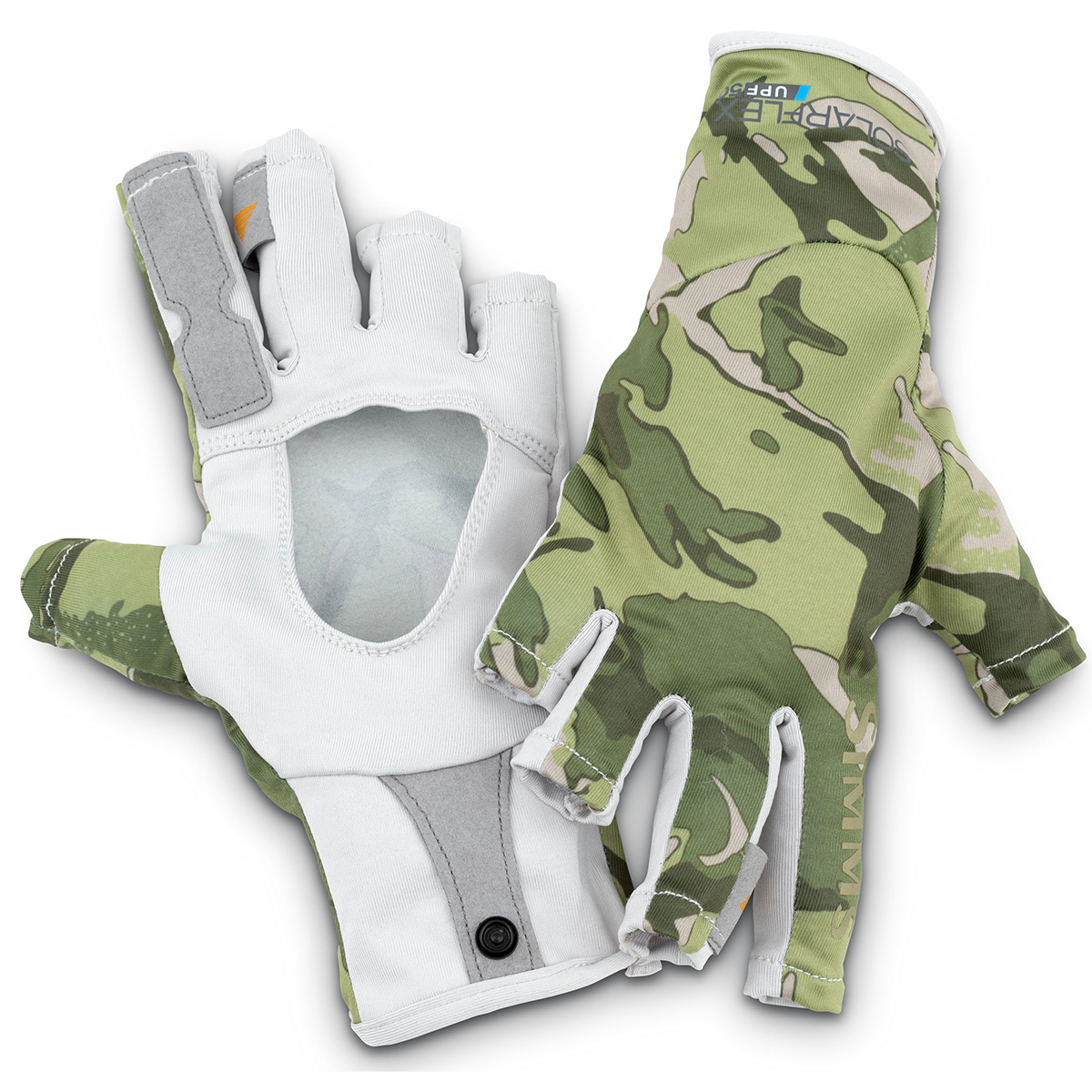 Simms sunglove riffle camo for Fly fishing gloves