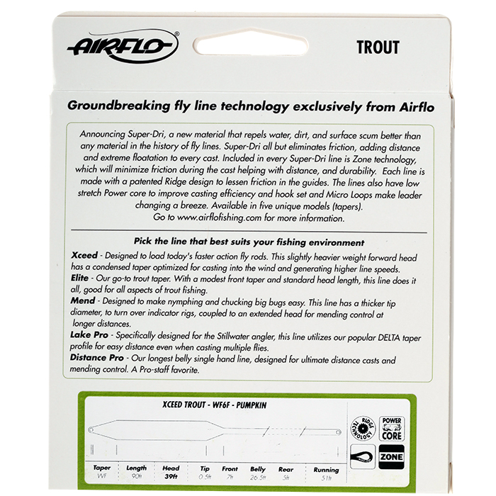 Airflo Ridge Super Dri Xceed