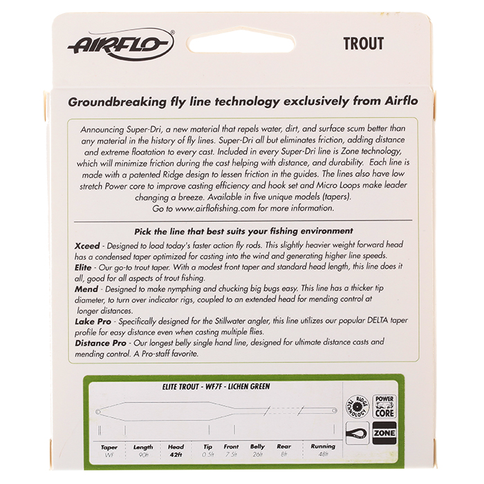Airflo Ridge Super Dri Distance Pro