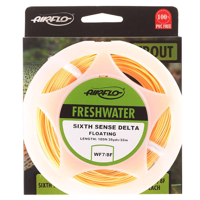 Airflo sixth sense delta floating floating fly lines taimen for 6th sense fishing
