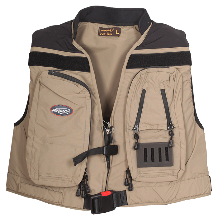 Airflo wavehopper inflatable fly vest wading belly for Inflatable fishing vest