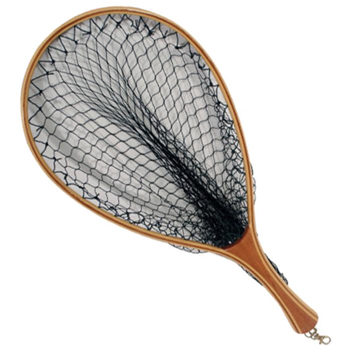 Airflo streamtec net wooden fly fishing landing nets for Wooden fishing net
