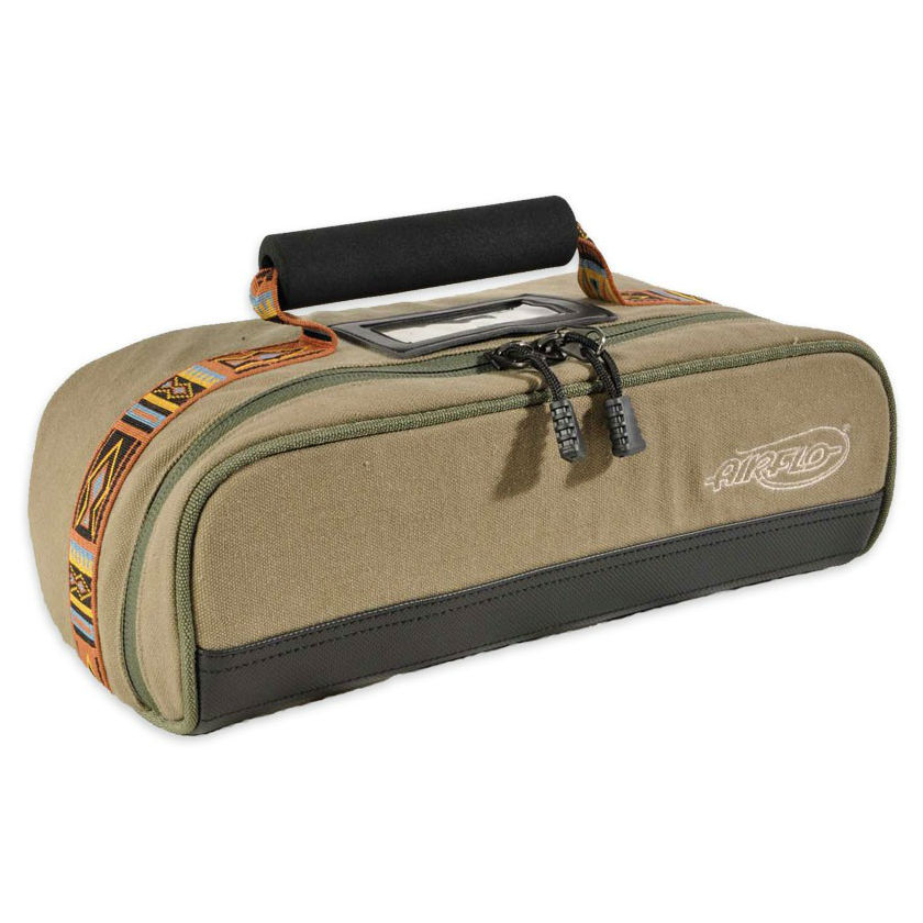 Airflo outlander 5 reel case fishing bags luggage taimen for Most expensive fishing rod