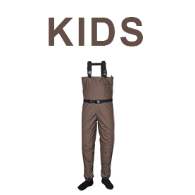 Fishing waders wading boots taimen for Kids fishing waders