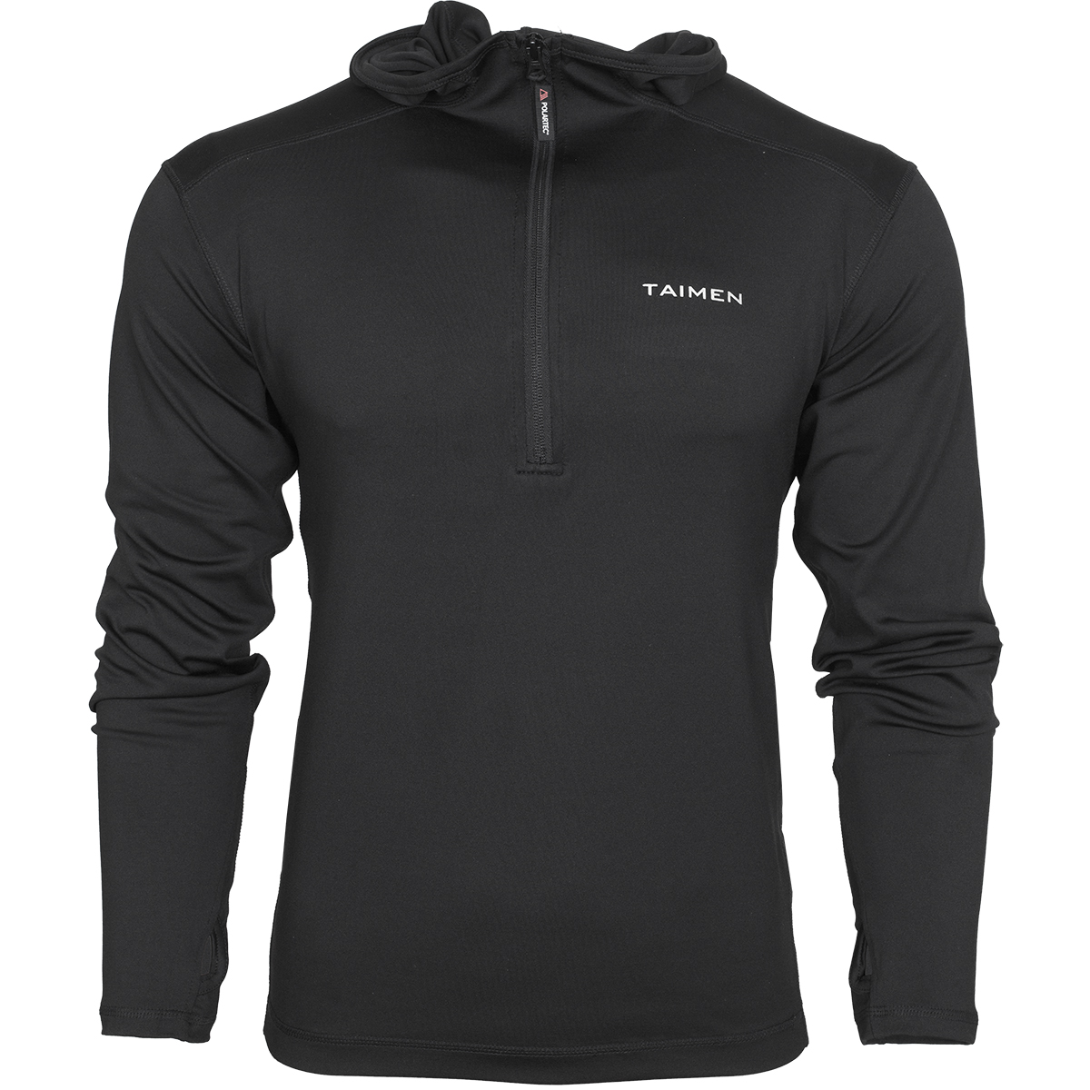 Taimen Polartec Power Stretch Lt Hoody  - Black