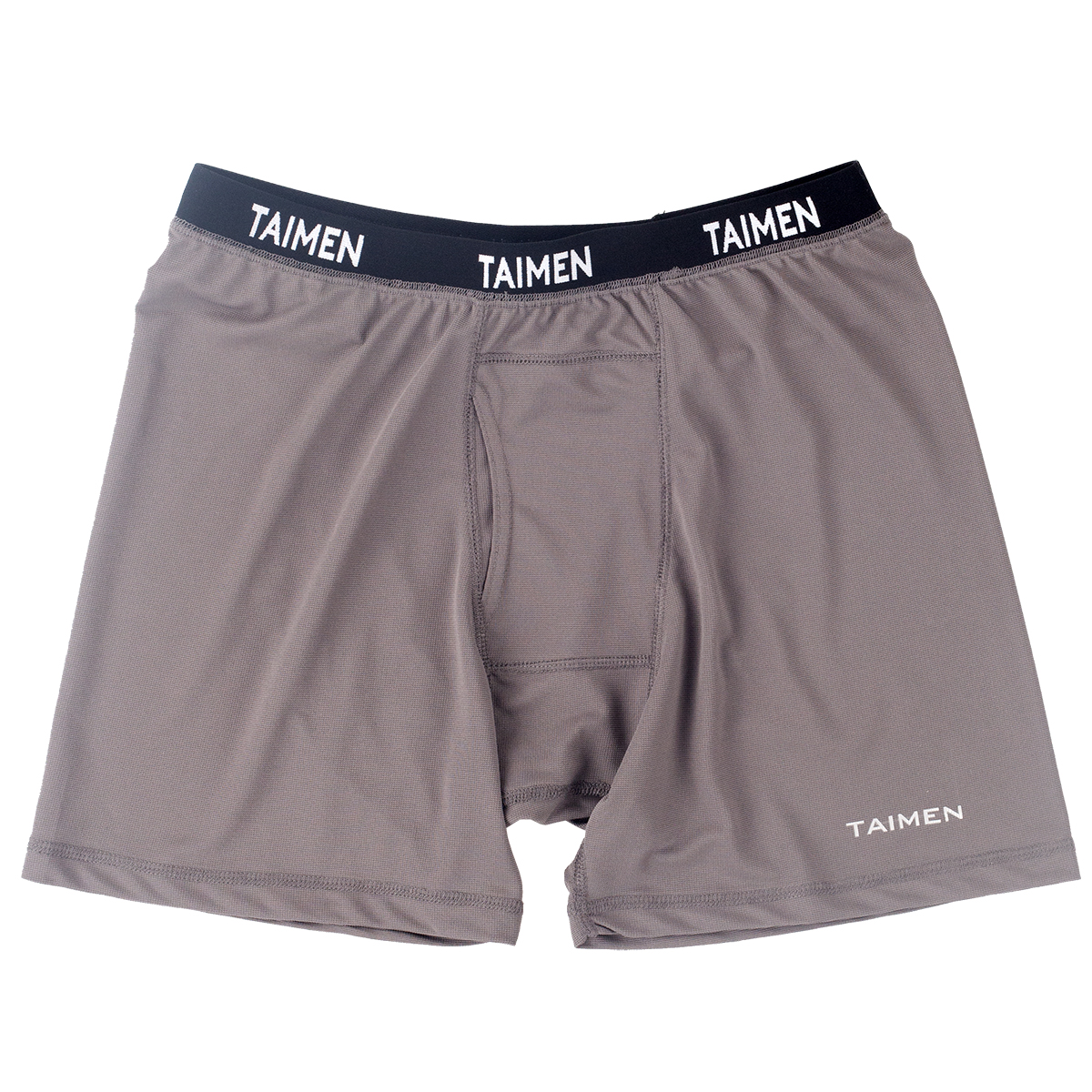 Taimen Polartec Power Dry Boxer - Dark Gull Gray