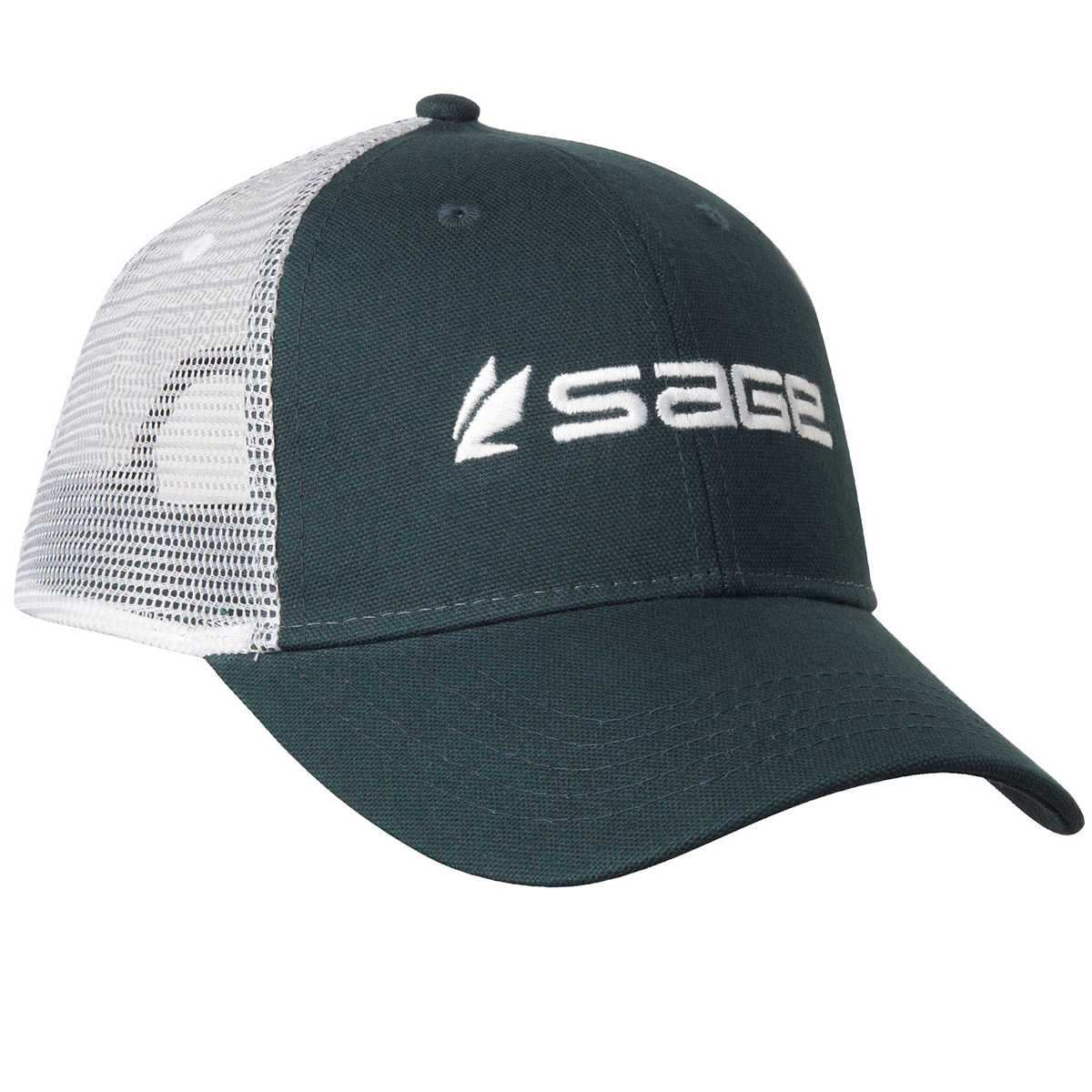 Sage trucker fishing caps ebay for Sage fly fishing hat