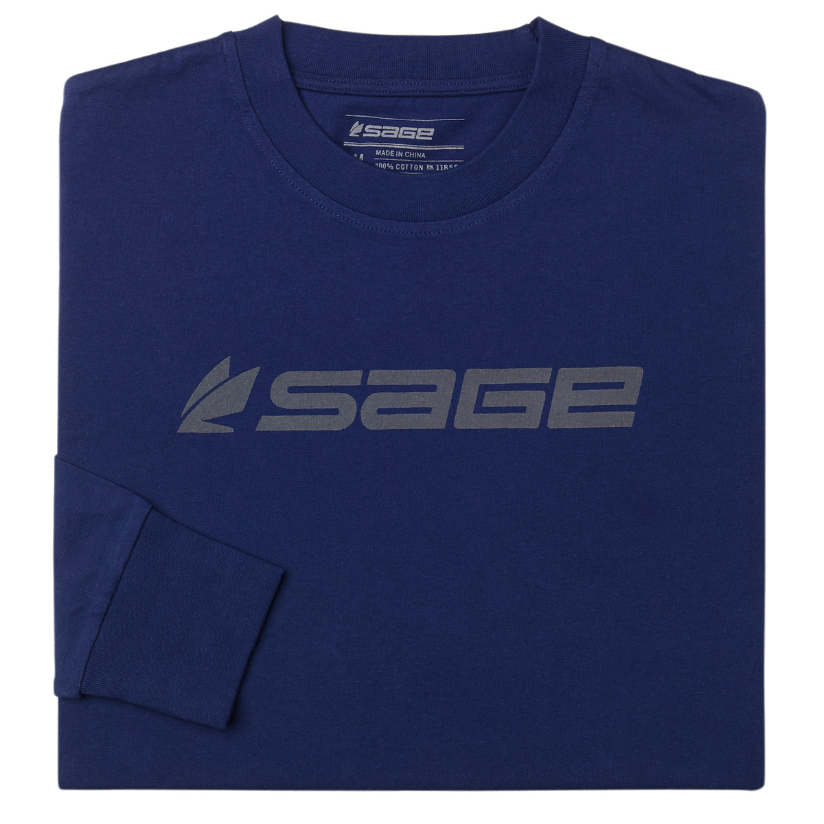 Sage Logo Long Sleeve Tee
