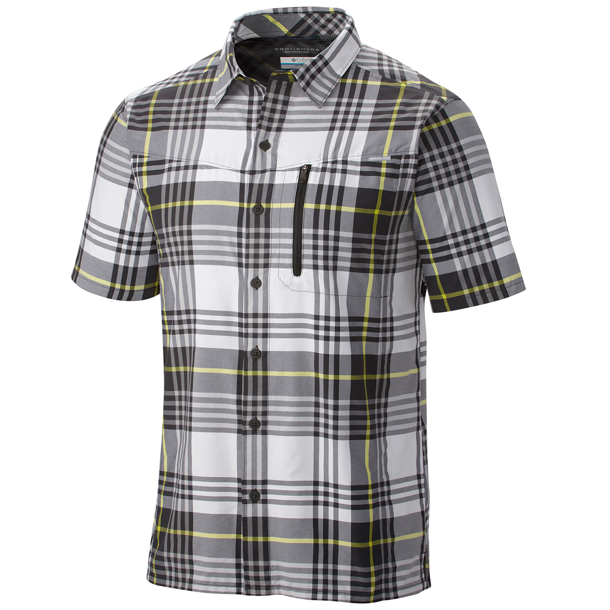Columbia silver ridge plaid short sleeve shirt fishing Short sleeve plaid shirts