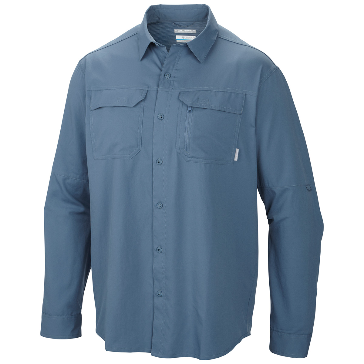 Columbia voyager long sleeve shirt fishing shirts ebay for Fishing long sleeve shirts