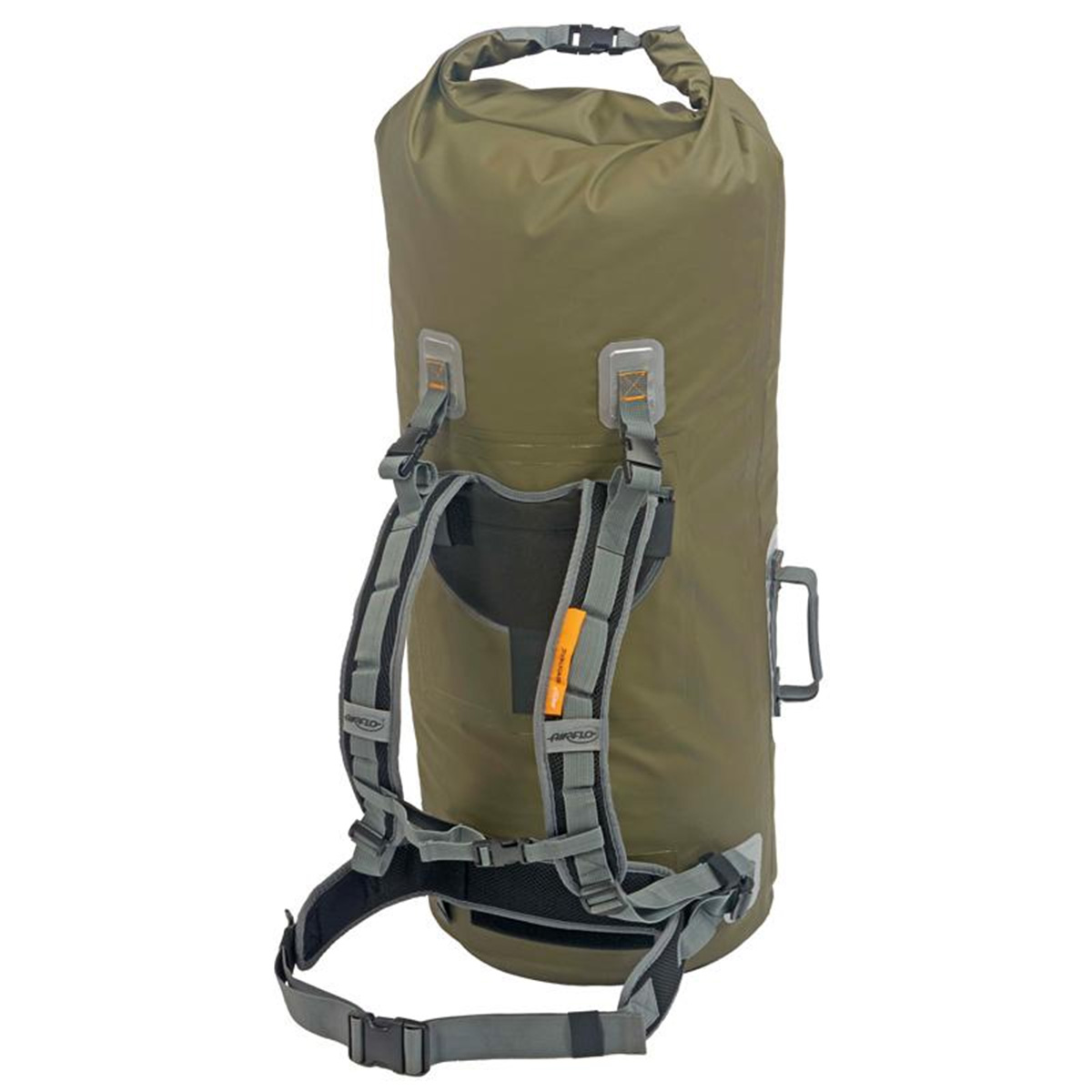 Airflo fly dri 60 litre roll top back pack tube fishing for Fly fishing luggage