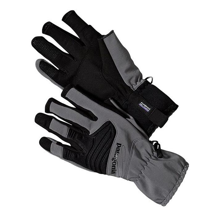 Patagonia shelled insulator fingerless gloves fly fishing for Fly fishing gloves