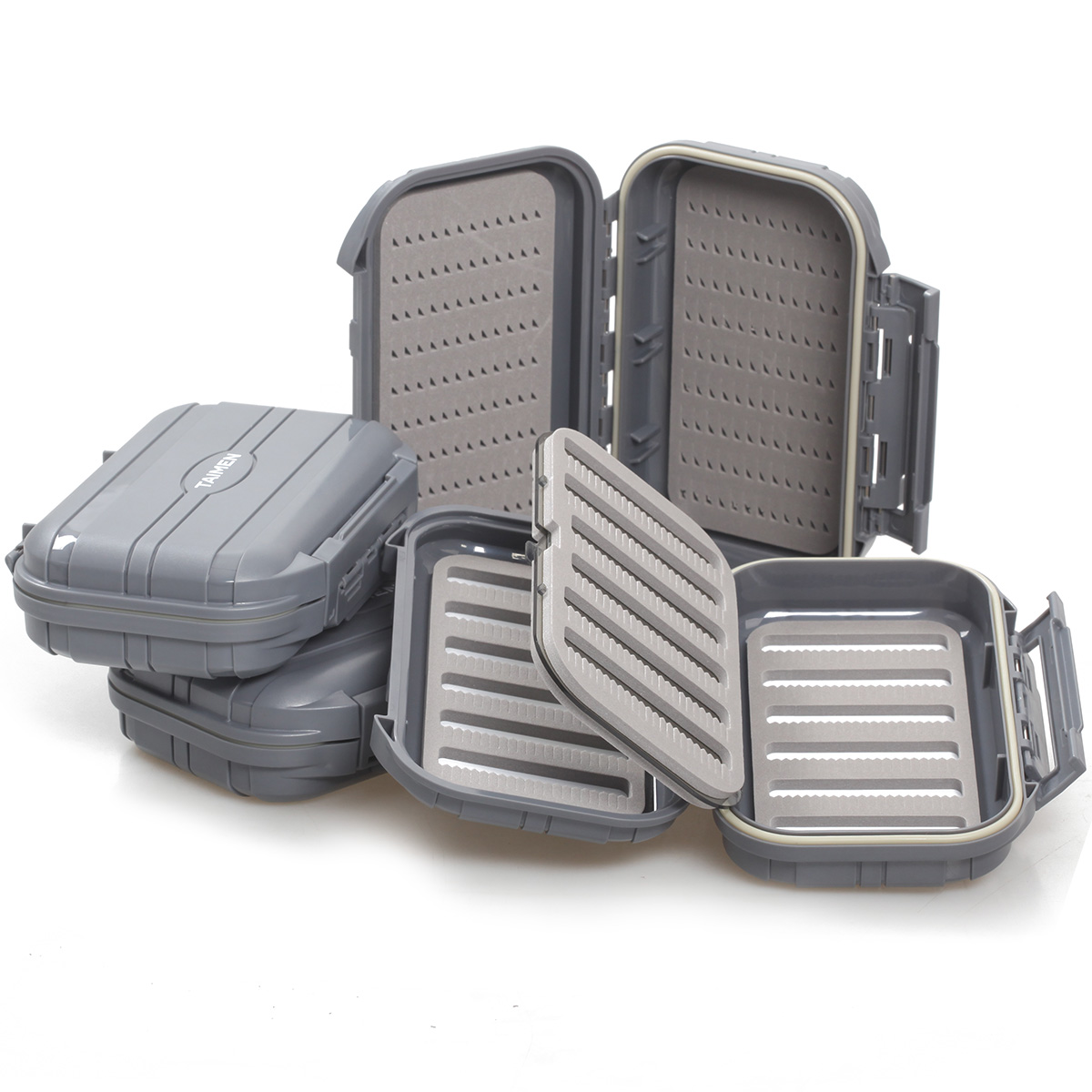 Taimen waterproof fly box 3000 fly fishing boxes ebay for Fly fishing box