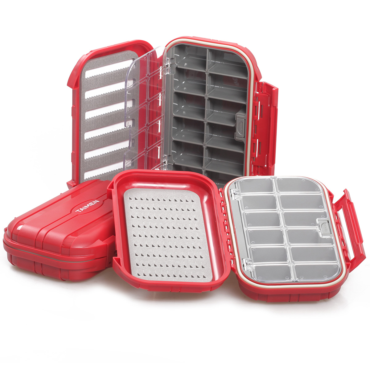 Taimen Waterproof Fly Box 3000 Compartment