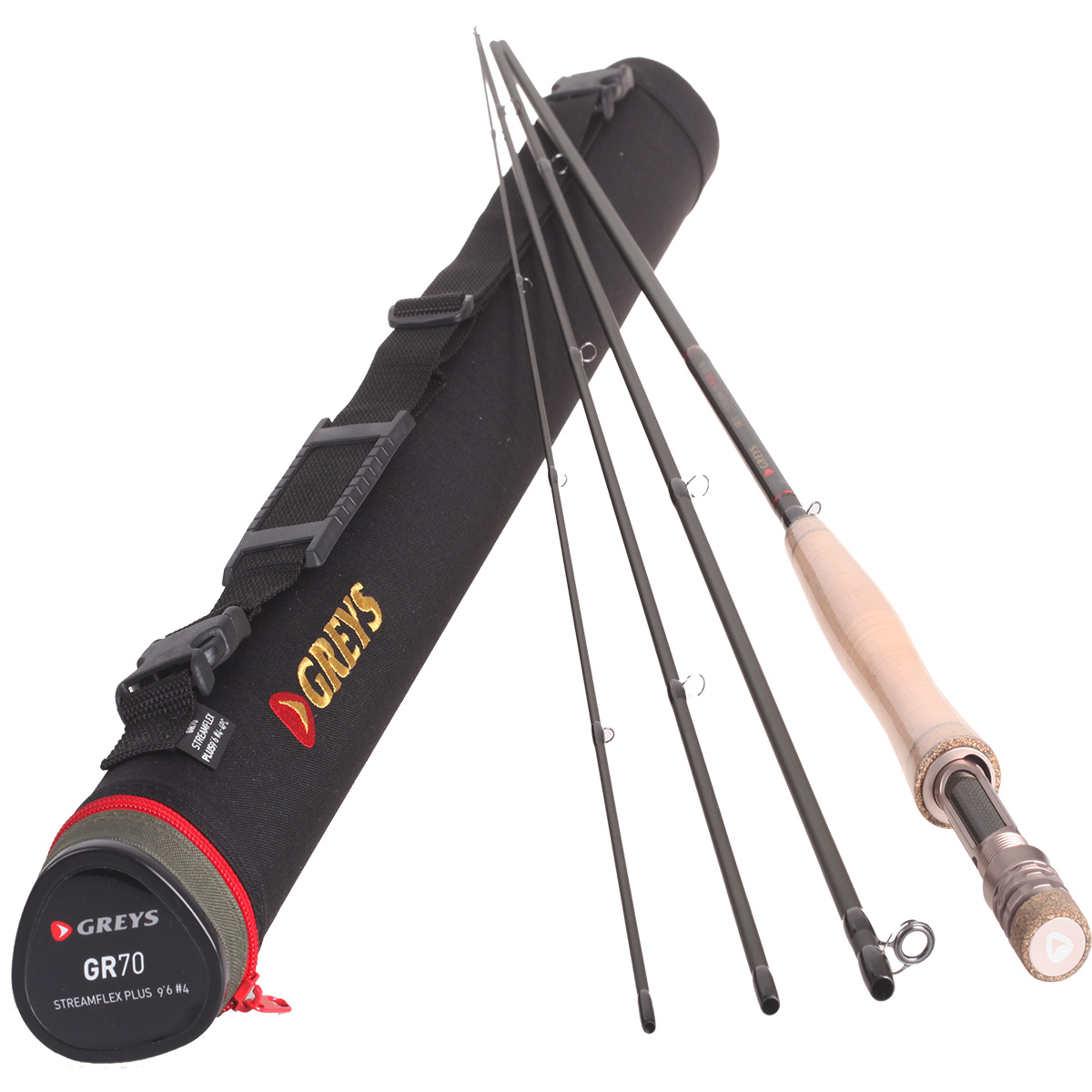 Greys gr70 streamflex 4 piece fly rod all sizes fly for Fishing rod game