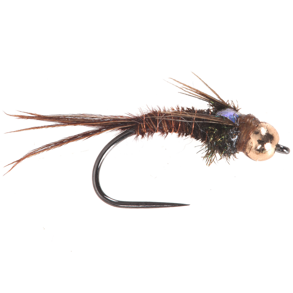 Pheasant tail nymph bead head flashback tungsten beads for Fly fishing nymphs