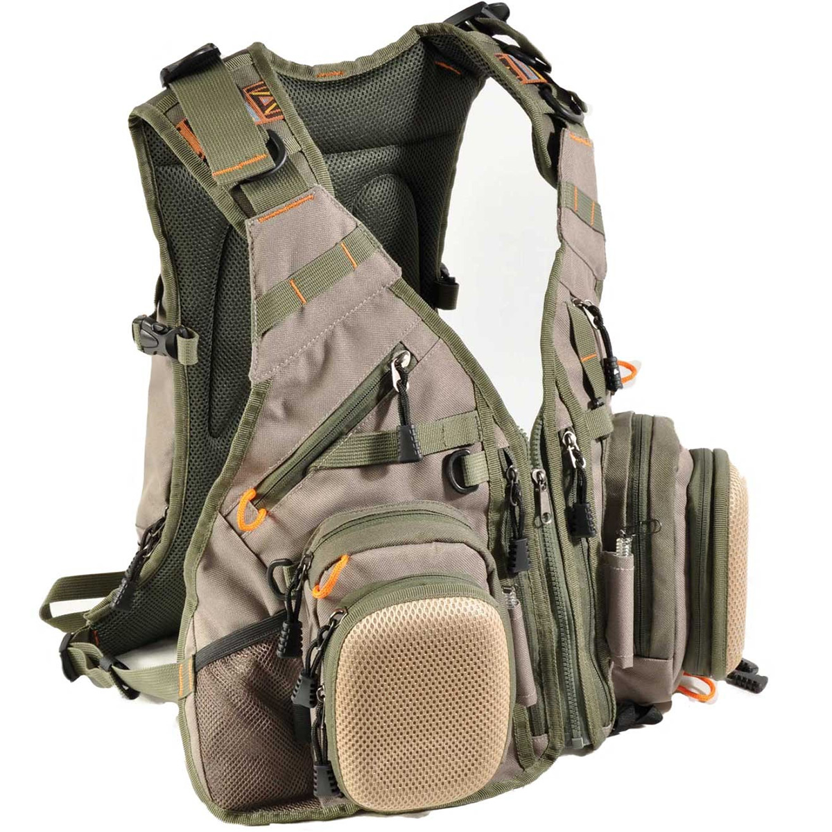 Airflo outlander vest adn 25l backpack fly fishing for Fly fishing backpack