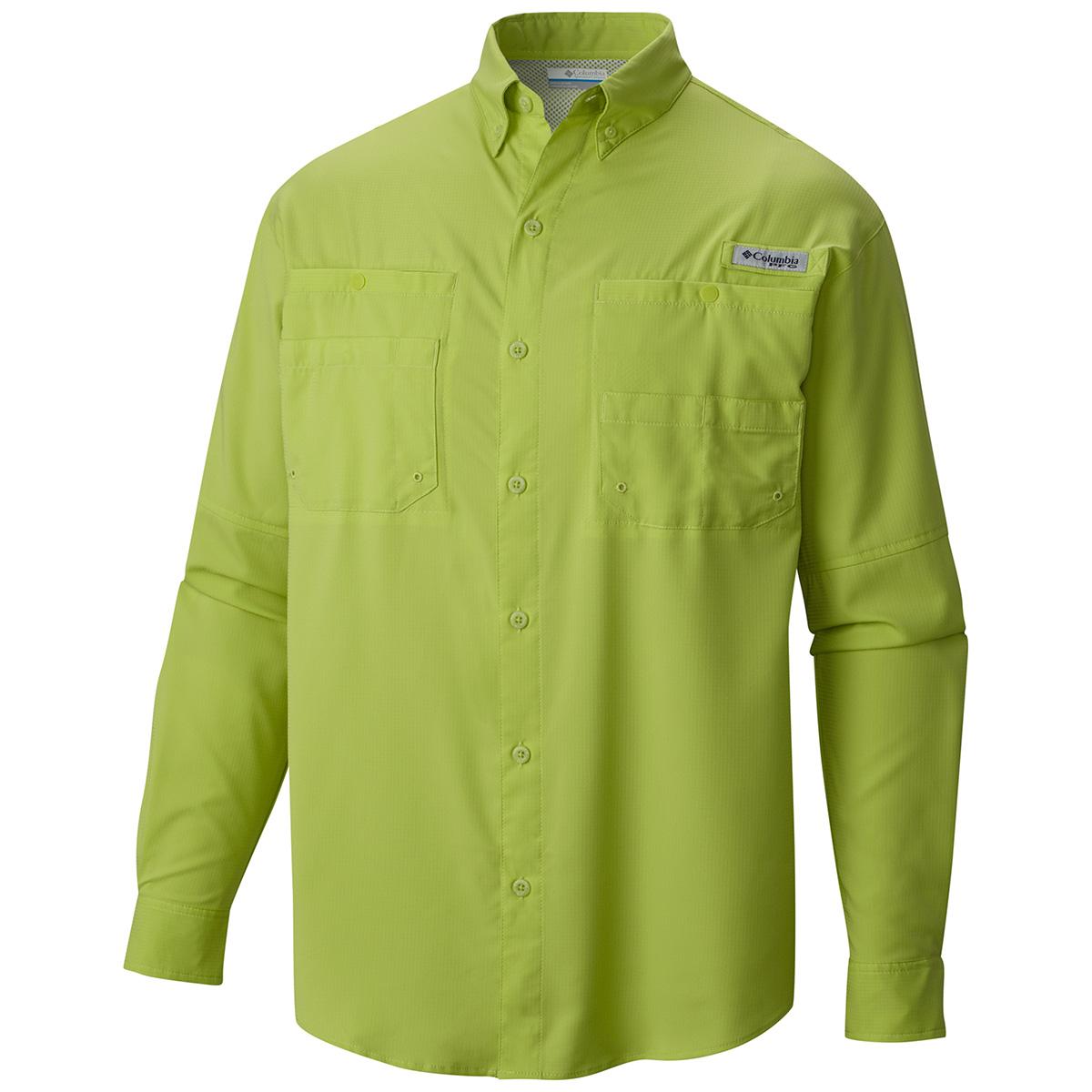 Columbia tamiami ii ls shirt fishing shirts ebay for Two fish apparel