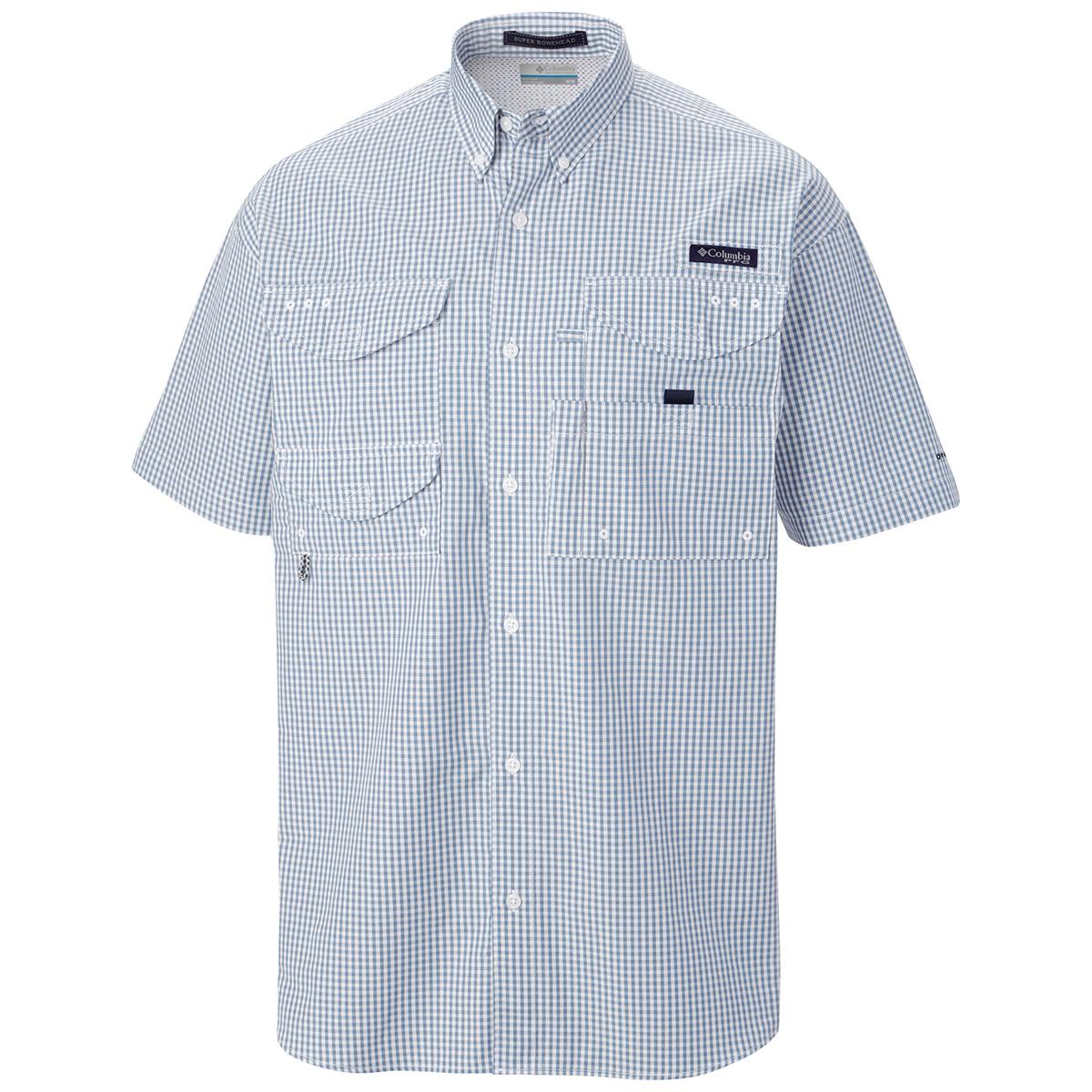 Columbia super bonehead classic ss shirt fishing shirts for Columbia cotton fishing shirt