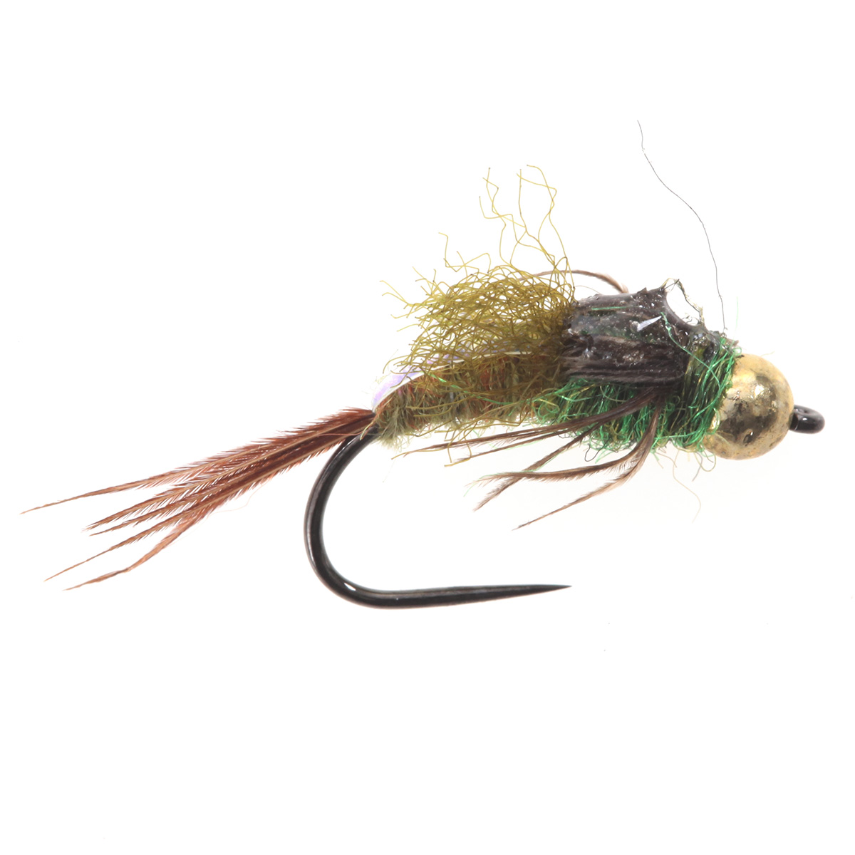 Tungsten BH Epoxy Back Bwo Blue Wing Olive