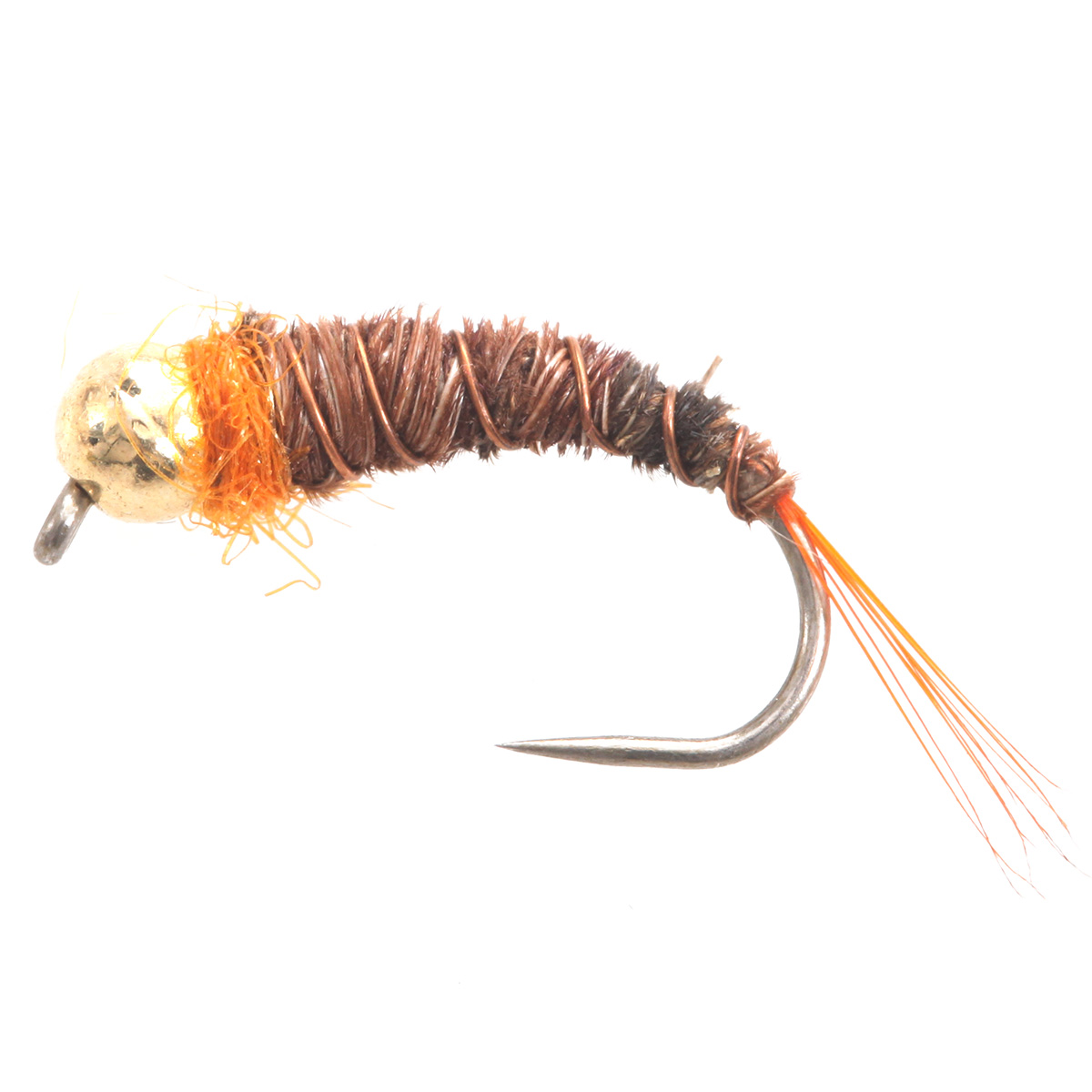 Tunghsten BH Sparkle Pheasant Tail Orange