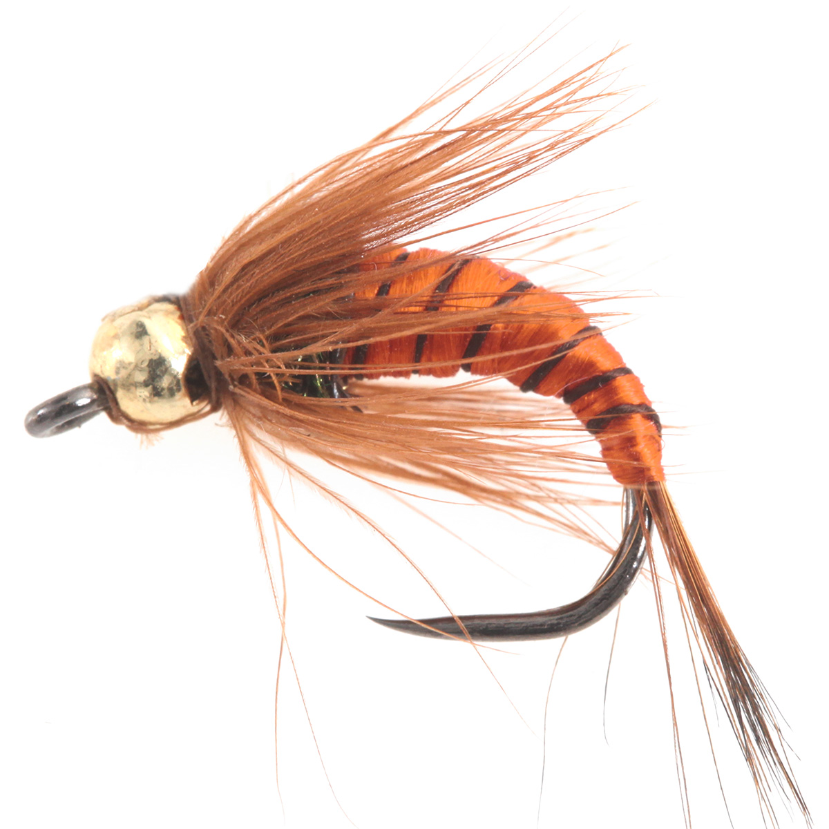 Tungsten BH PL Brown Body Nymph