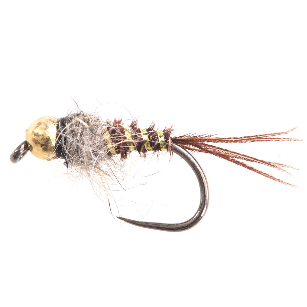 Tungsten BH Micro Pheasant Tail White/Natural