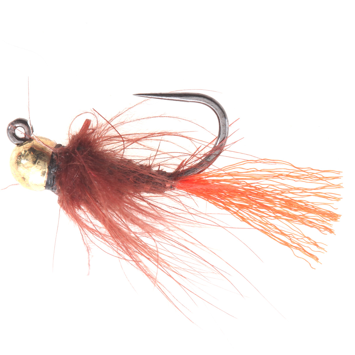 Brown Red CDC Caddis Jig