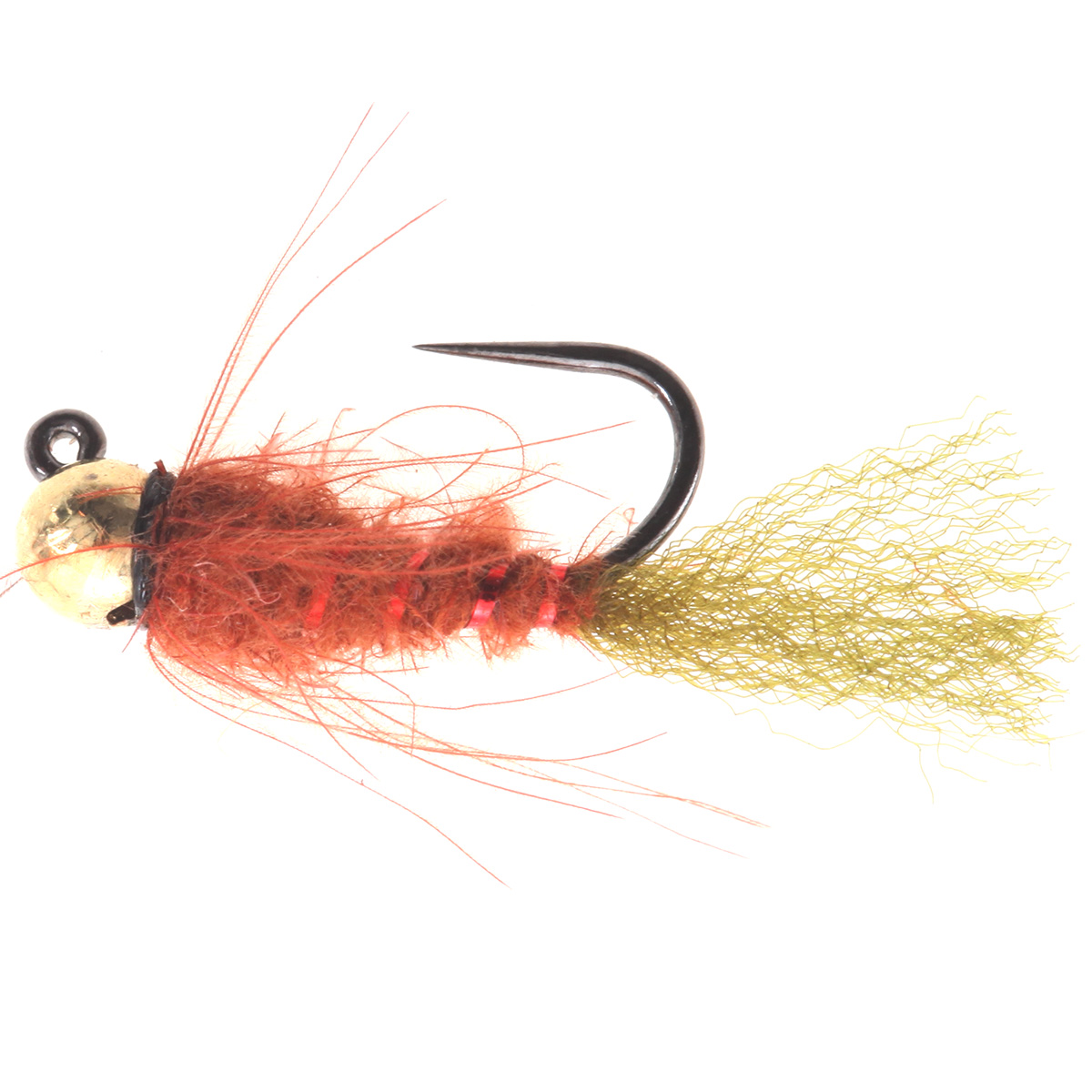 Rusty CDC  Body Caddis Jig