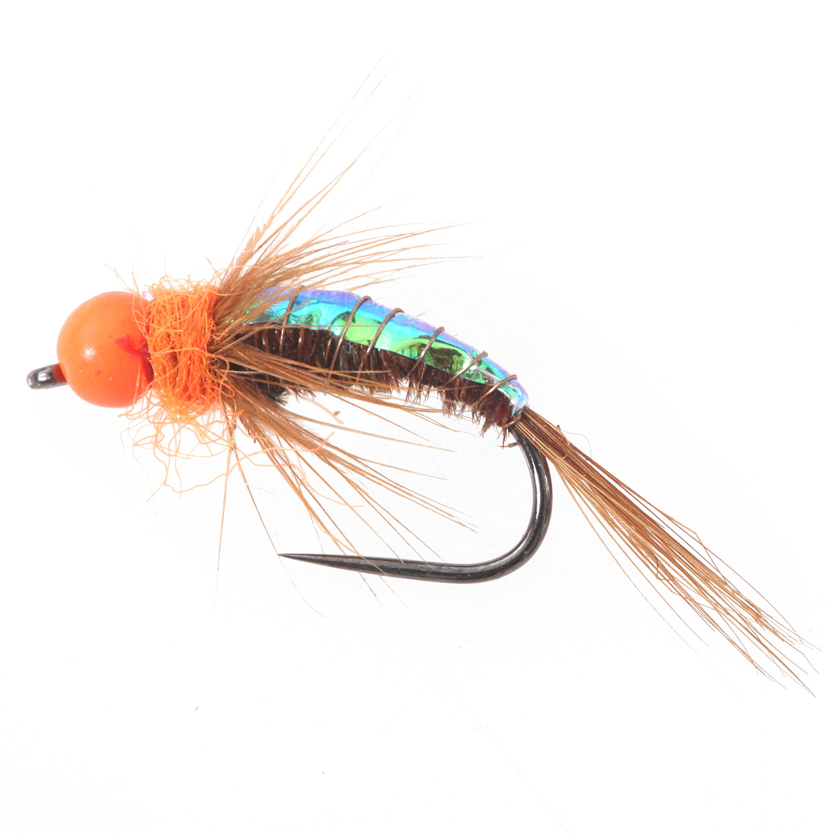 Tungsten BH Orange Pheasant Tail