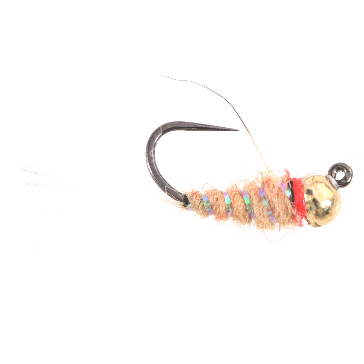 Tungsten BH Orange Tan Jig