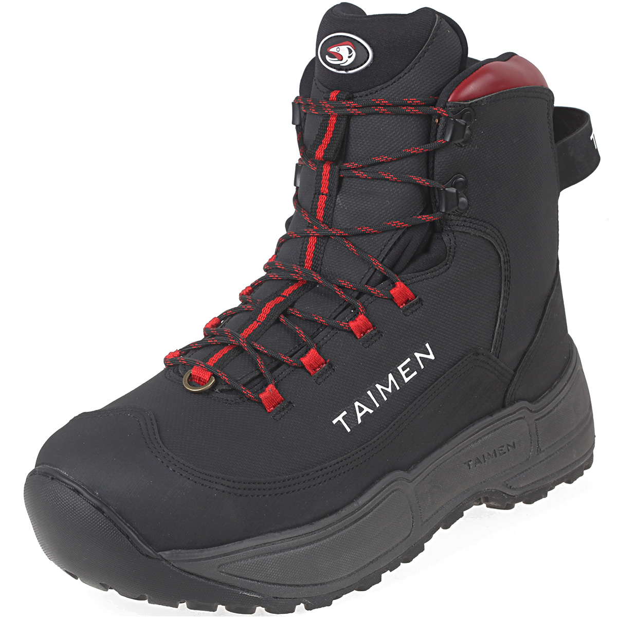 Taimen onon wading boots fishing wading boots ebay for Fishing waders with boots