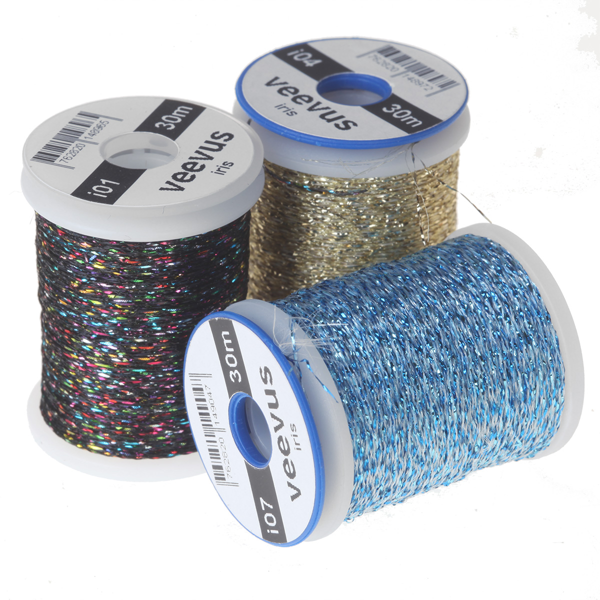 Veevus Iridescent Thread, Fly Tying Tinsels, Wires - Taimen